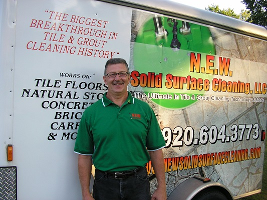Randy of NEW Solid Surface Cleaning