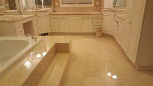 Polished Natural Stone Bathroom